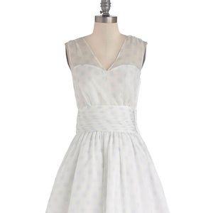 Modcloth Geode Professionally Posh Dress Small